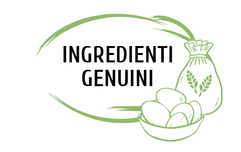 Pasta fresca ingredienti genuini